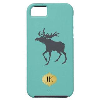 Modern, Simple & Beautiful Hand Drawn Deer iPhone 5 Cover