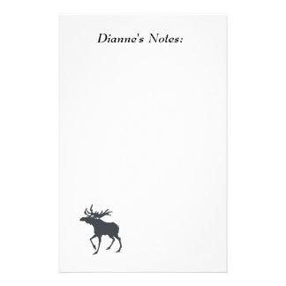 Modern, Simple & Beautiful Hand Drawn Deer Stationery
