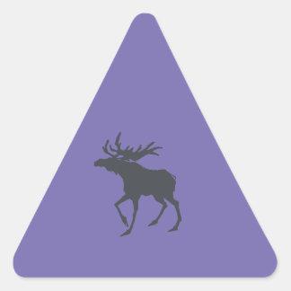 Modern, Simple & Beautiful Hand Drawn Deer Triangle Sticker