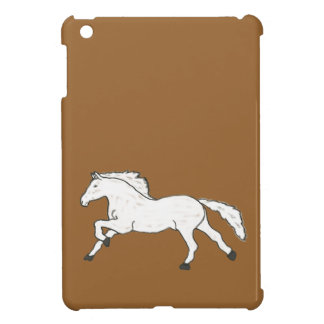 Modern, Simple & Beautiful Hand Drawn Horse Case For The iPad Mini