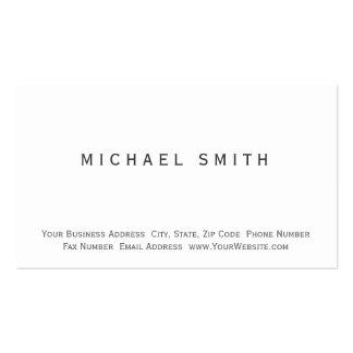 Modern Simple Minimal Business Card