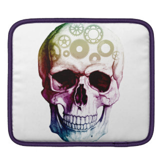 Modern Skull Tattoo Sleeve For iPads