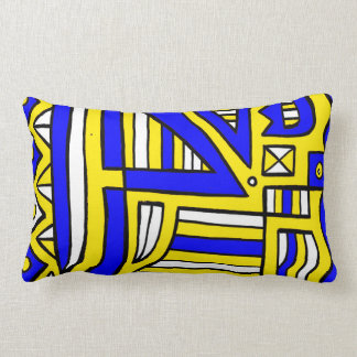 Modern Sleek Beautiful Luxurious Lumbar Pillow