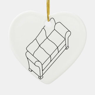 modern sofa ceramic ornament