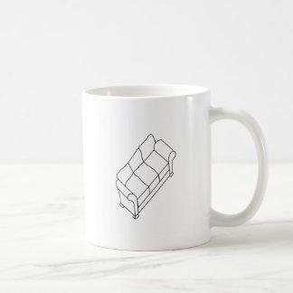 modern sofa coffee mug