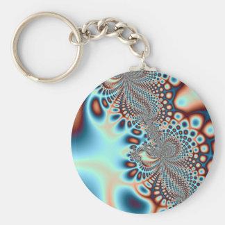Modern Spiral Keychain