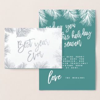 MODERN SPRIG BEST YEAR EVER CARD