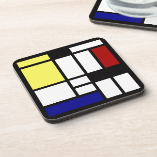 Modern Square Art Coaster