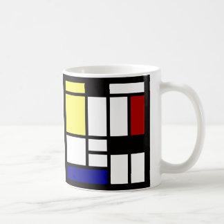 Modern Square Art Coffee Mug
