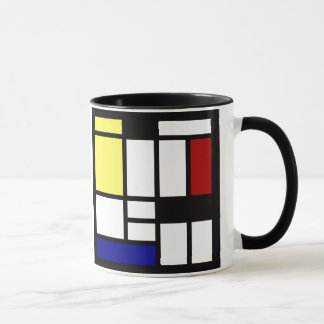 Modern Square Art Mug