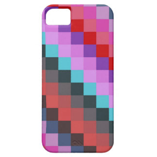 Modern Squares Pattern   Mosaic Abstract Art iPhone 5 Cover