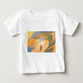 Modern stained glass pattern greeting baby T-Shirt