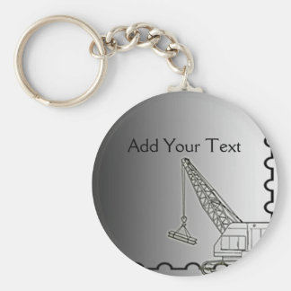 Modern Steel Construction Keychain
