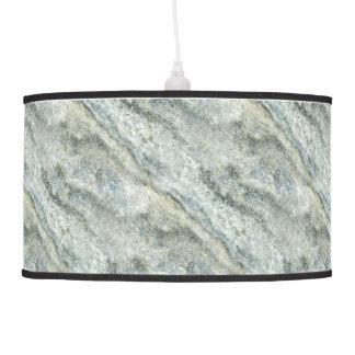 Modern Stone Mable Look Pendant Lamp