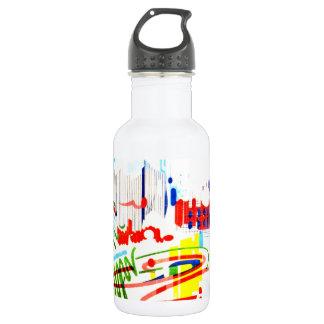 Modern Street Tiles - Lisbon 532 Ml Water Bottle
