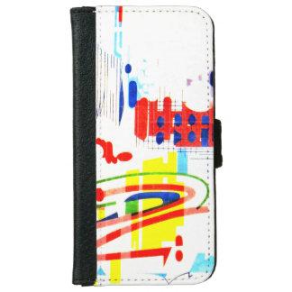 Modern Street Tiles - Lisbon iPhone 6 Wallet Case