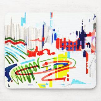 Modern Street Tiles - Lisbon Mouse Pad
