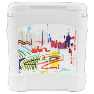 Modern Street Tiles - Lisbon Rolling Cooler