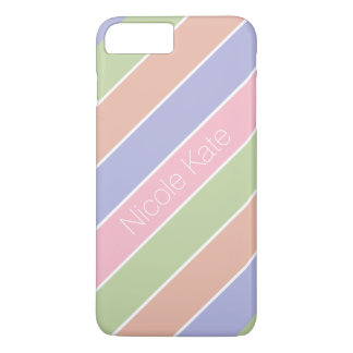 modern striped fine color iPhone 7 plus case