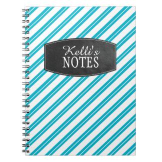 Modern Stripes Note Book