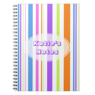 Modern Stripes Notebook
