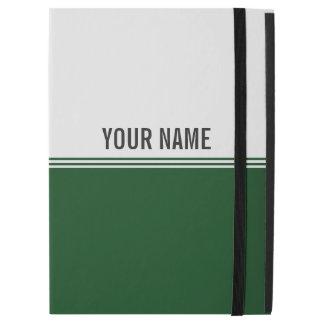 Modern Stripes Regal Green Custom