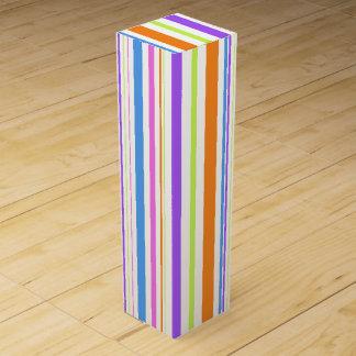 Modern Stripes Wine Gift Box