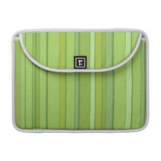 Modern Stripey MacBook MacBook Pro Sleeves