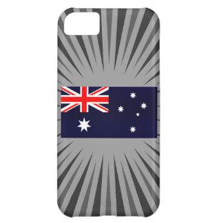 Modern Stripped Australian flag Cover For iPhone 5C