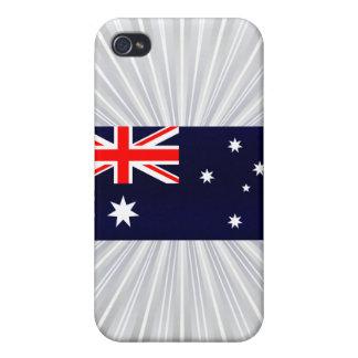 Modern Stripped Australian flag iPhone 4 Cover