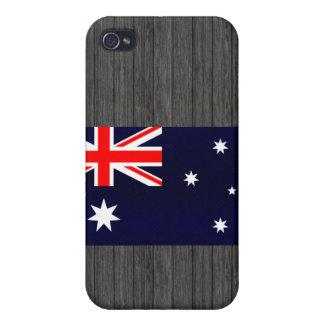 Modern Stripped Australian flag Case For iPhone 4