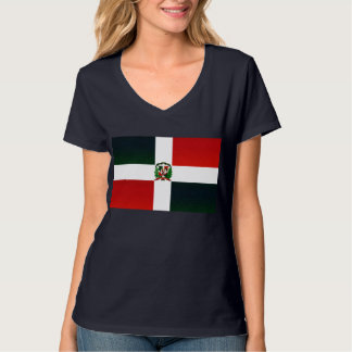 Modern Stripped Dominican flag T-Shirt
