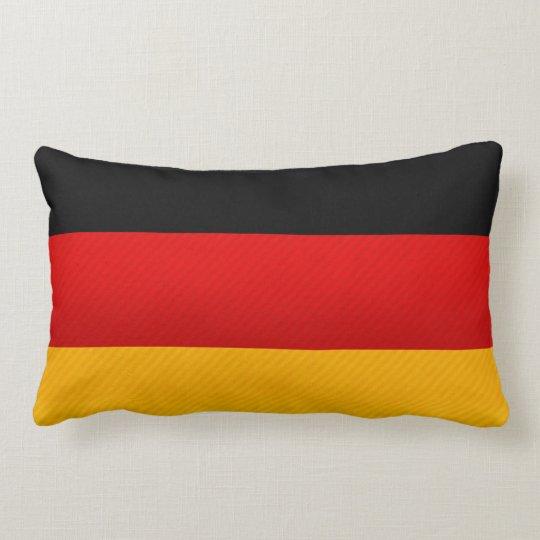 Modern Stripped German flag Lumbar Pillow