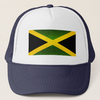 Modern Stripped Jamaican flag Trucker Hat