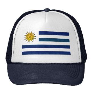 Modern Stripped Uruguayan flag Trucker Hat
