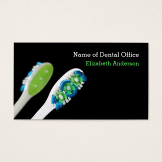 Modern Style Dentist Dental Appointment Reminder Business Card