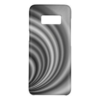 Modern Stylish Black White Silver Pattern Case-Mate Samsung Galaxy S8 Case