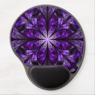 Modern Stylish Chic Elegant Royal Purple Gel Mouse Pad
