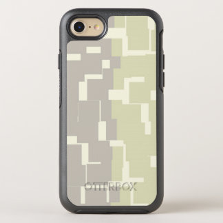 Modern Stylish Earth Toned Colors Pattern OtterBox Symmetry iPhone 8/7 Case