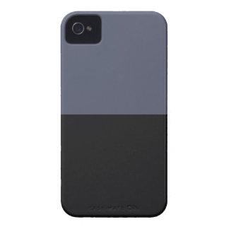 Modern Stylish Masculine Dark Blue Stripes For Him Case-Mate iPhone 4 Case
