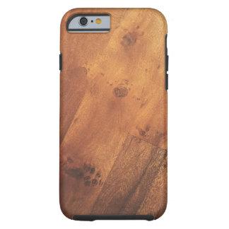Modern Stylish Wood Grain Wood Look Tough iPhone 6 Case