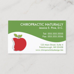 Chiros business cards business card printing zazzle ca modern swirl chiropractic business cards colourmoves