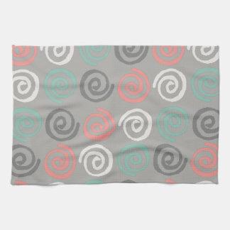 Modern Swirls Kitchen Towels