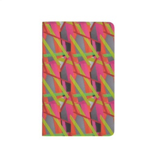 Modern Tape Art Neon Journal