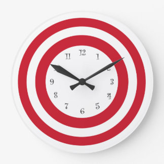 Modern Target Design Wall Clocks