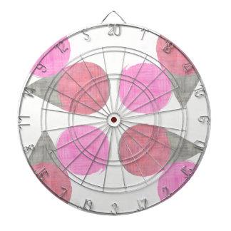 Modern Teardrop Pattern Dartboard