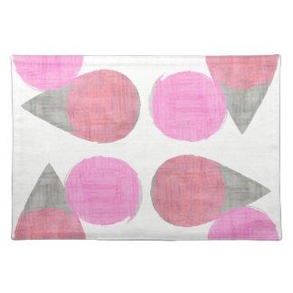 Modern Teardrop Pattern Placemat