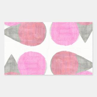 Modern Teardrop Pattern Sticker