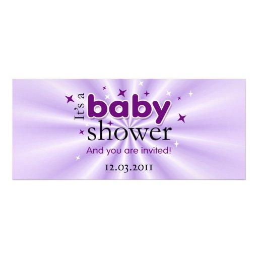 stars funny baby shower party 4 x invitation card zazzle