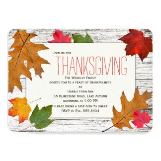 Thanksgiving Dinner Invitations Announcements Zazzle Canada